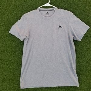 Mens Adidas Grey T Shirt - size Large